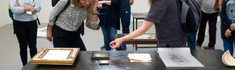 Tour of MA Drawing show with Kate Macfarlane, Co-Director of the Drawing Room